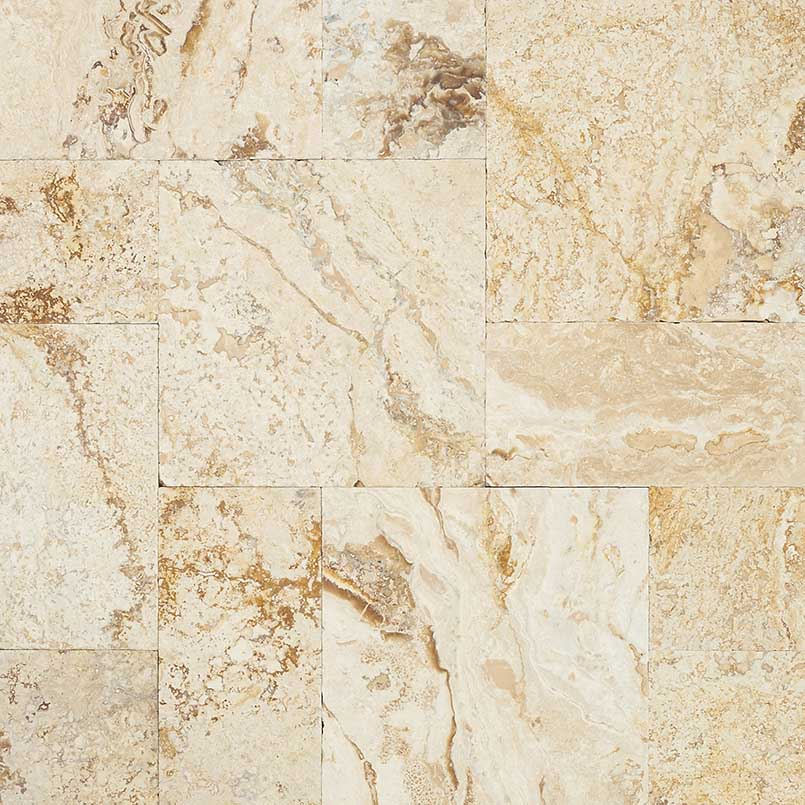 Leonardo 3CM Travertine French Pattern Pavers