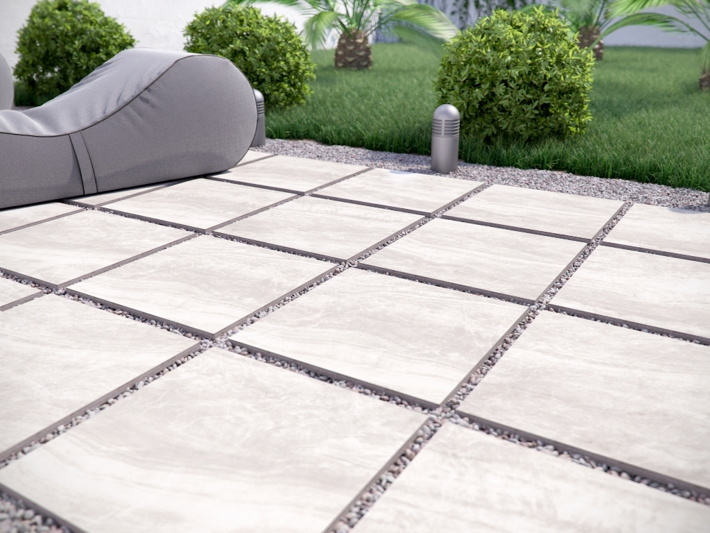 Praia Grey 24x24 Porcelain Pavers