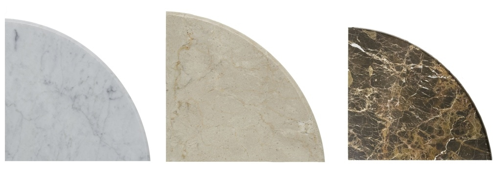 FREE SHIPPING - Double Sided Polished Marble 9