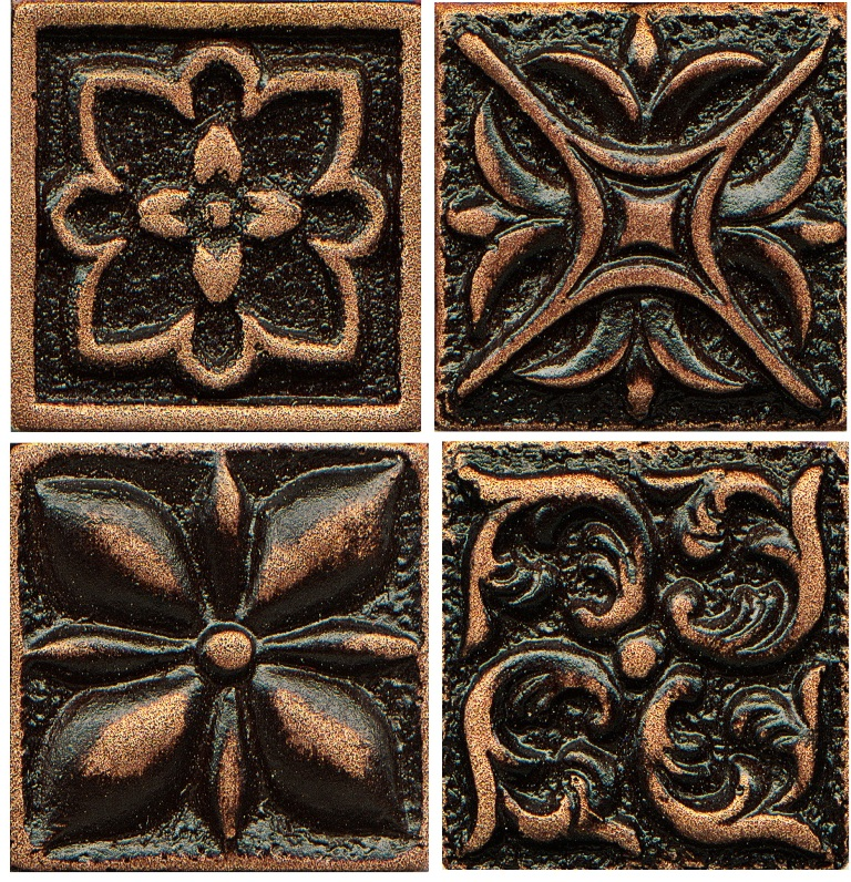 Free Shipping - Ambiance 2x2 Venetian Bronze Insert Collection