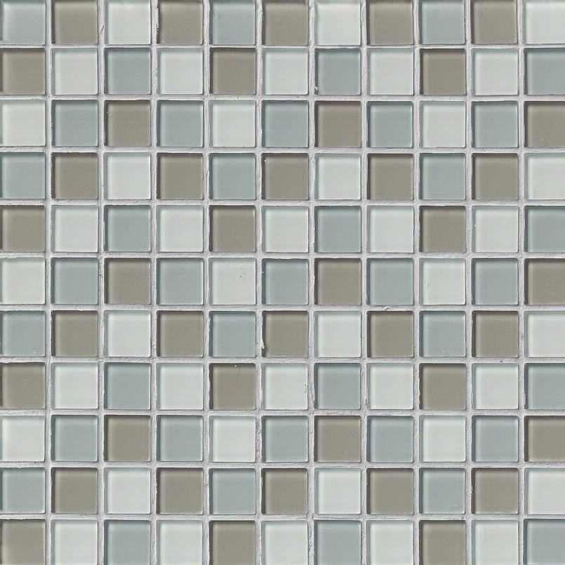FREE SHIPPING - Majestic Ocean 1x1 Glass Mosaic