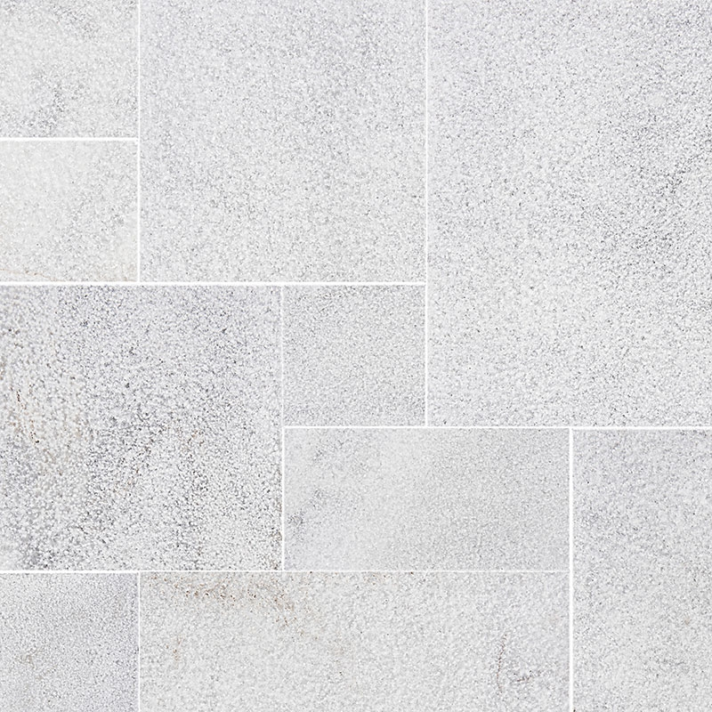 Kashmir White Marble French Pattern 3CM Paver
