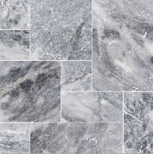 Bardiglio Scuro Marble French Pattern 3CM Paver