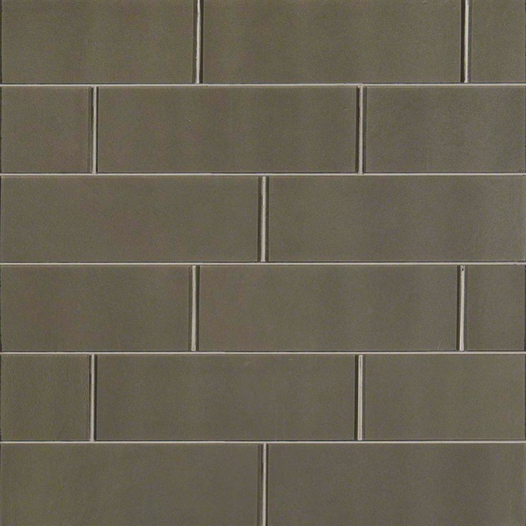 Metallic Gray 4x12 Subway Tile
