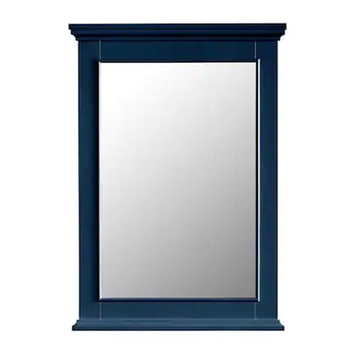 FREE SHIPPING - Manhattan Navy Blue 25x36 Bathroom Mirror