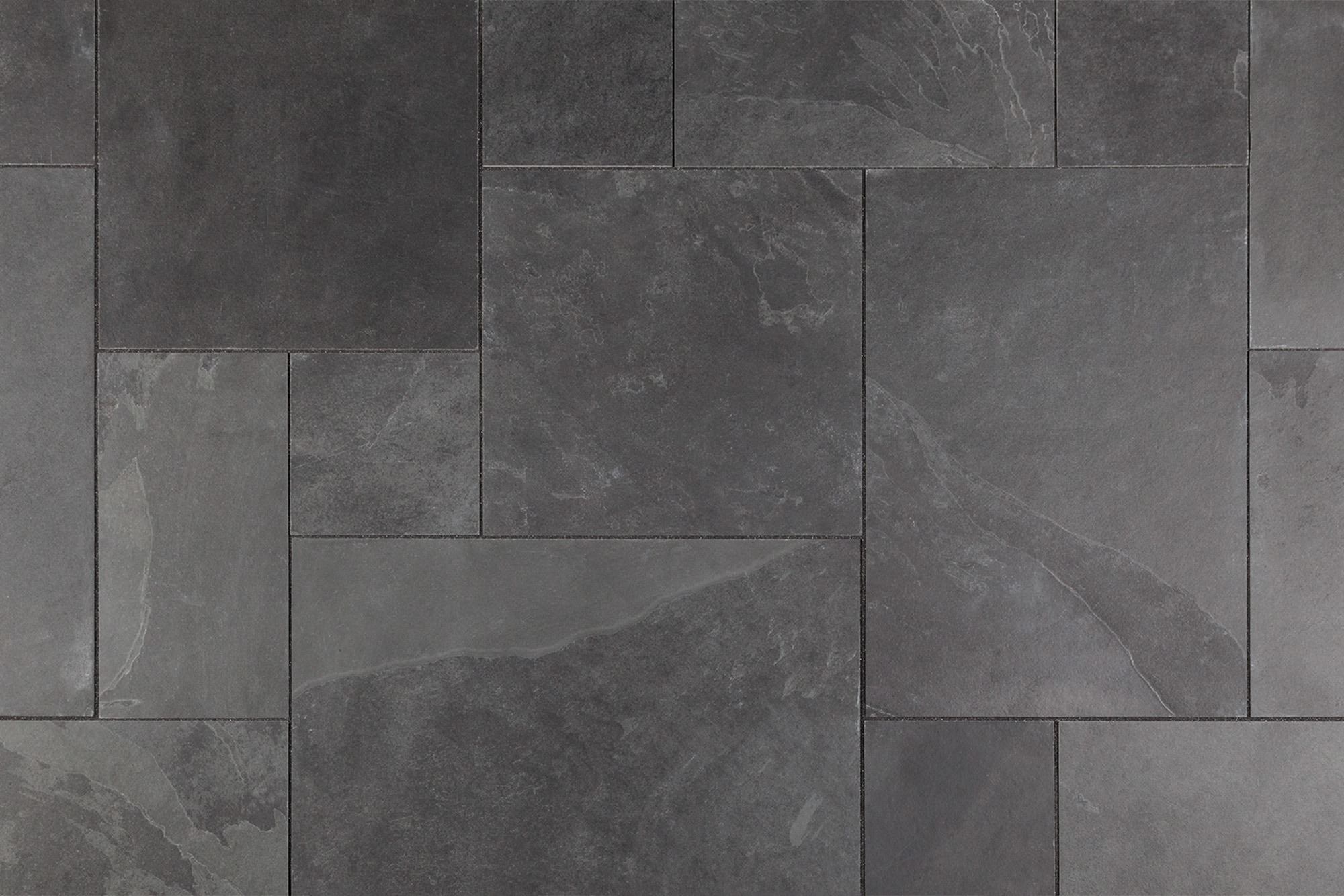 Black Slate Patter : Buy montauk black french pattern pavers wallandtile