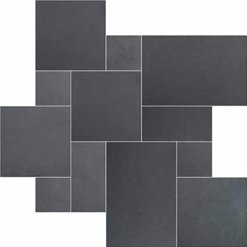 Montauk Blue 16 Sqft/Box Versailles Pattern Gauged