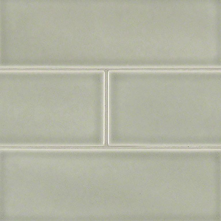 Morning Fog Glazed 4x12 Handcrafted Subway Tile