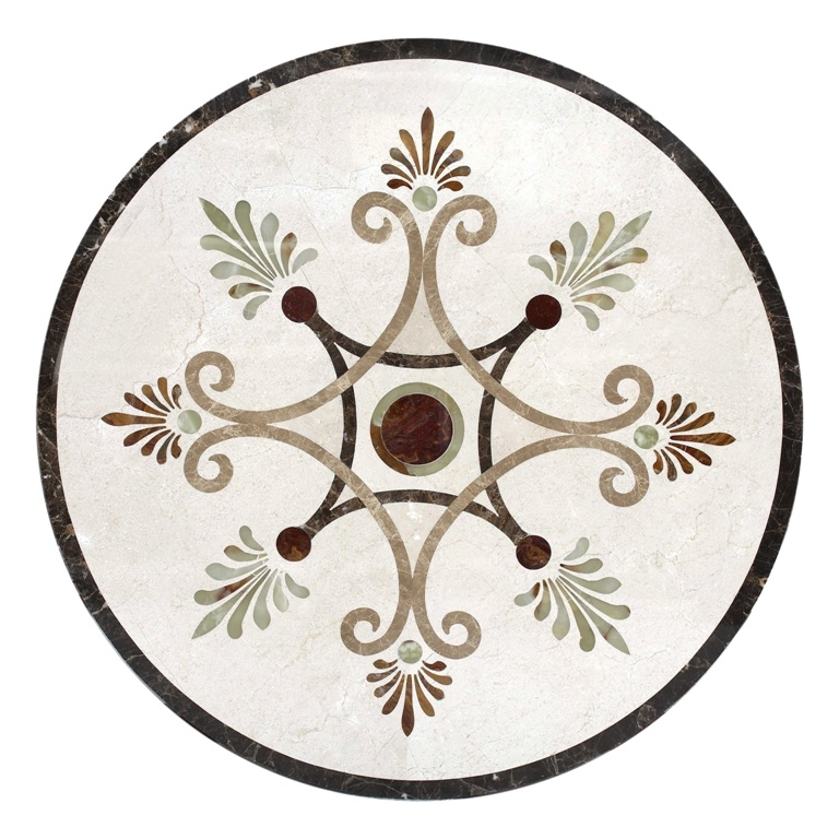 Mystic View Stone Medallion