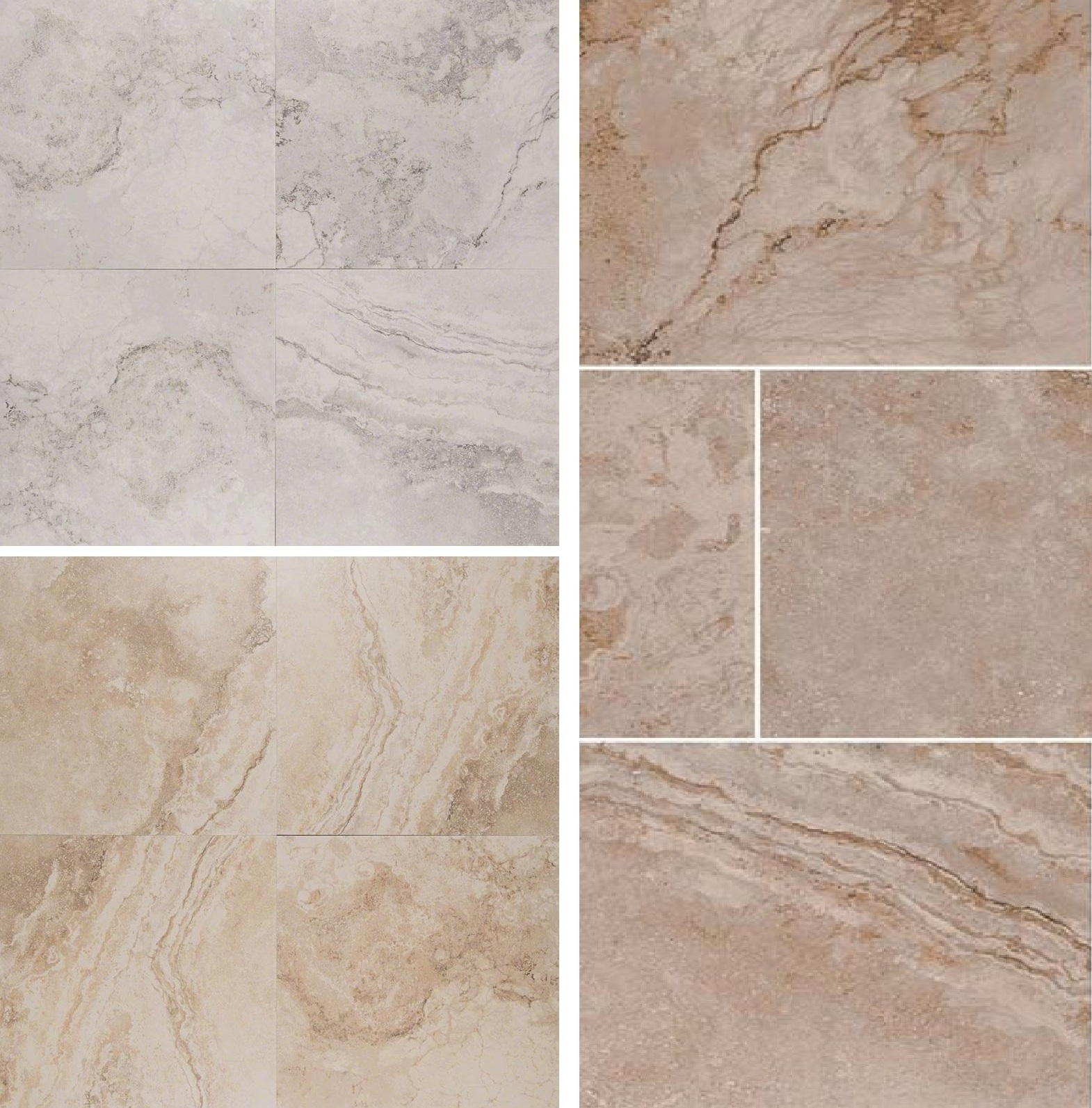 Napa 13X13 Stone Look Collection