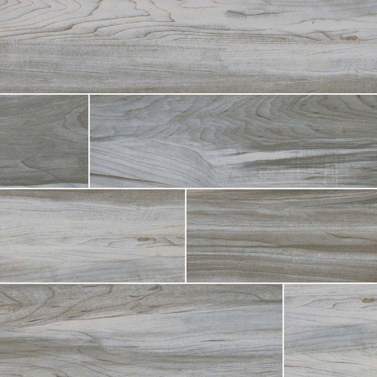 Carolina Timber White 6x24 Ceramic
