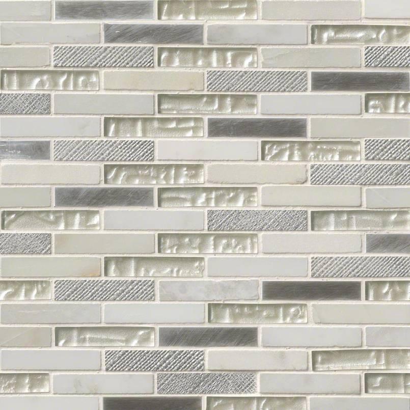 Ocean Crest Brick 12x12x8mm Mosaic
