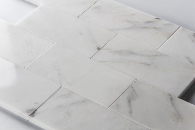 Statuary White 3x6 Polished