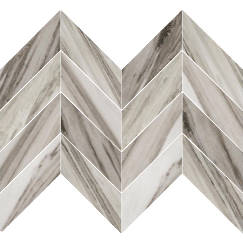 Palisandro 4X16 XL Chevron Honed Marble
