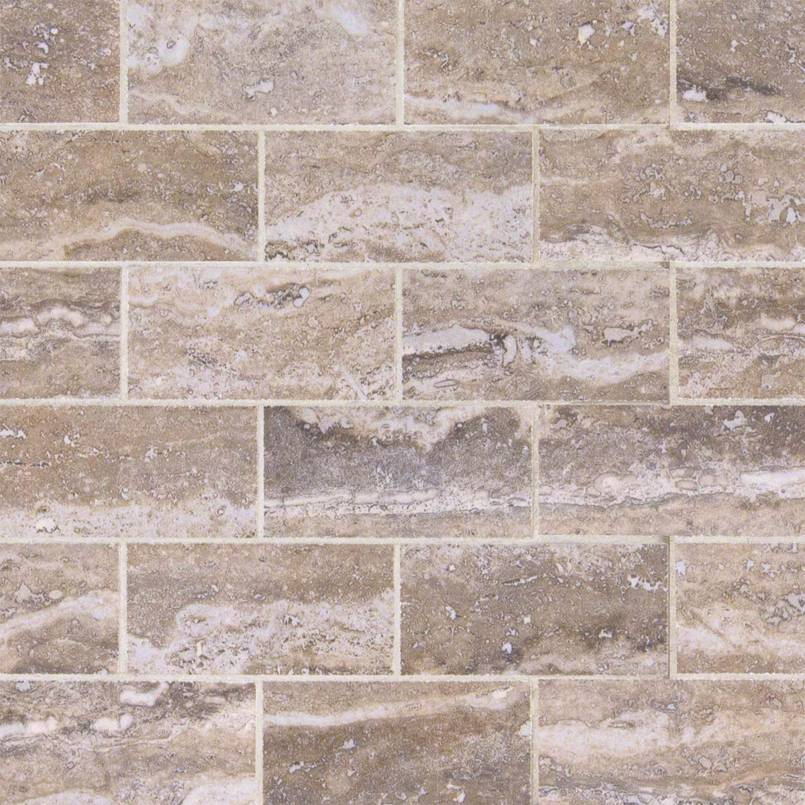 Pietra Venata Gray 2x4 Brick Polished