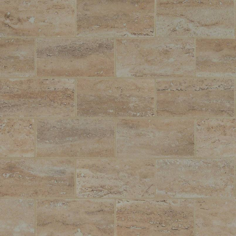 Pietra Venata Sand 2x4 Brick Polished