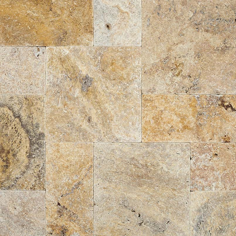 Tuscany Scabas 3CM French Pattern Pavers
