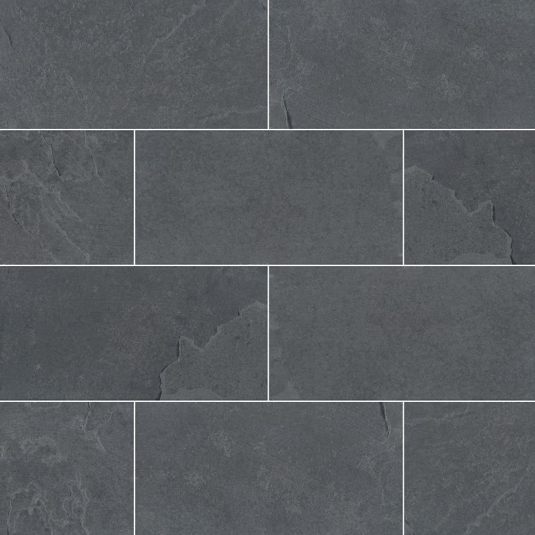 Montauk Black Subway Tiles - Select Size
