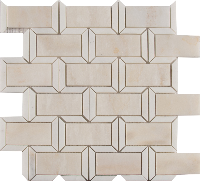 Angora 2x4 Framework Polished Brick