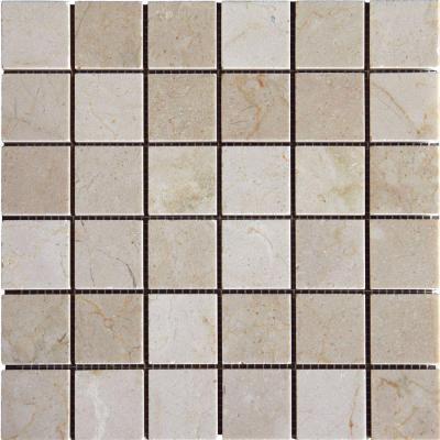 Crema Marfil2x2 Polished Mosaic