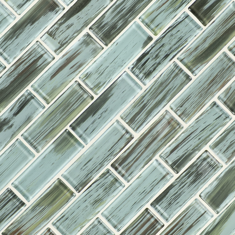 FREE SHIPPING - Verde 2x6 Glass Subway