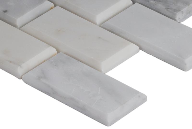 Greecian White 2X4 Polished & Bevel