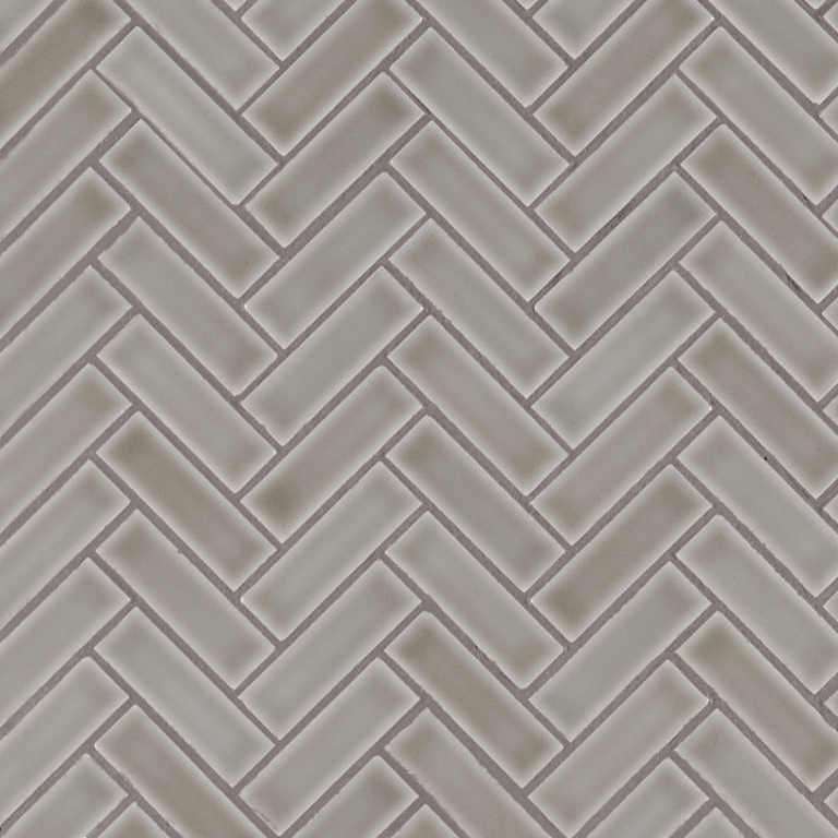 Dove Gray Herringbone Pattern