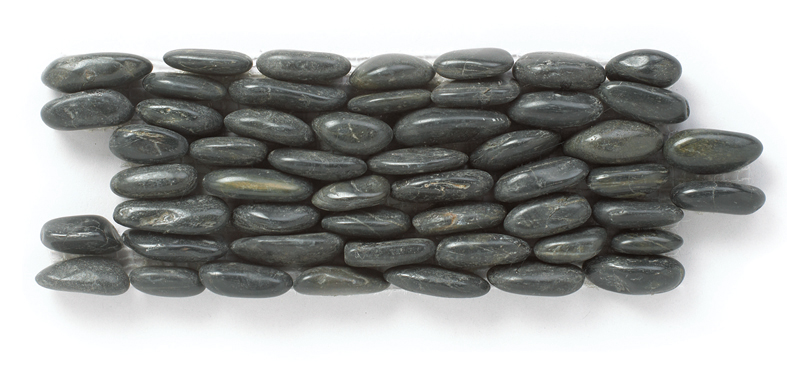 Eclipse Standing 4x12 Interlocking Polished Pebbles