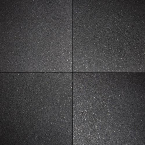 Wall And Tile Premium Black 18x18 Honed