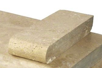 Tuscany Beige 4x12 5CM Bullnosed Coping
