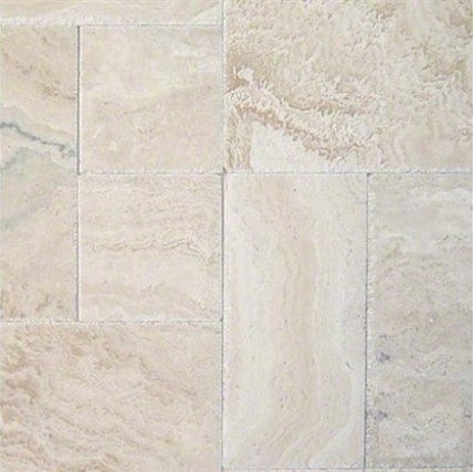 french pattern tile tuscany ivory onyx french pattern 16 sqftkit hufc travertine