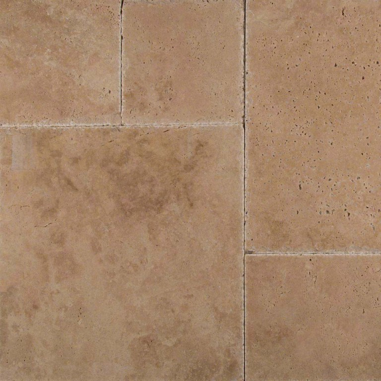 Tuscany Hazelnut French 16 Sq Ft Pattern Travertine