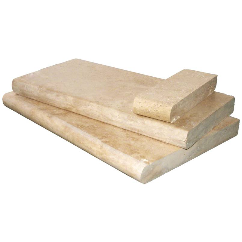 Tuscany Beige 16x24 5CM Pool Coping