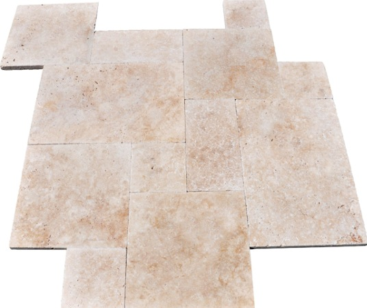 Tuscany Ivory French Pattern Tiles