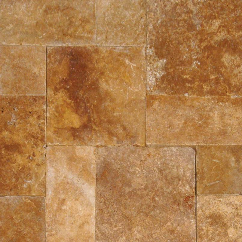 Tuscany Riviera 3CM Travertine French Pattern Pavers