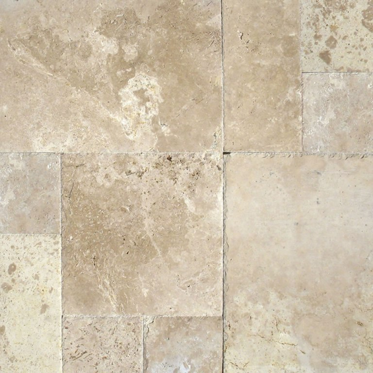 Tuscany Storm 16 Sqft Versailles Pattern Brushed French Pattern