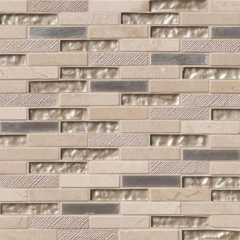 Vienna Blend Brick 12x12x8mm Mosaic