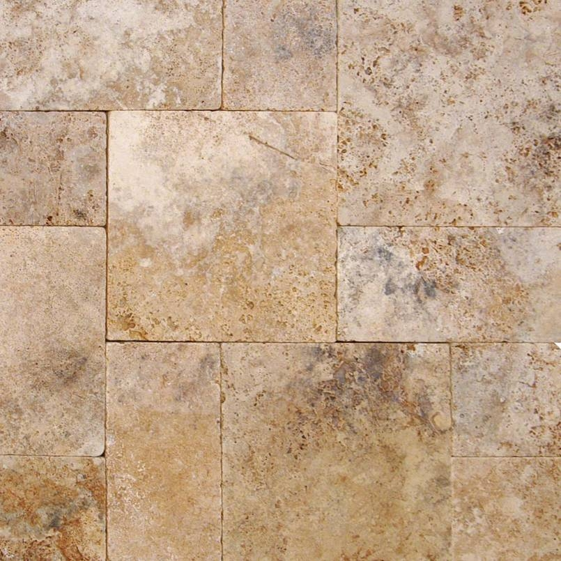 Walnut Rustico 3CM Frenchr Pattern Pavers