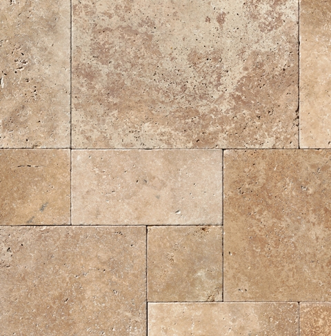 Noce 3CM French Pattern Pavers