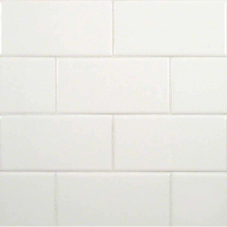 White 3x6 Subway Glossy Ceramic