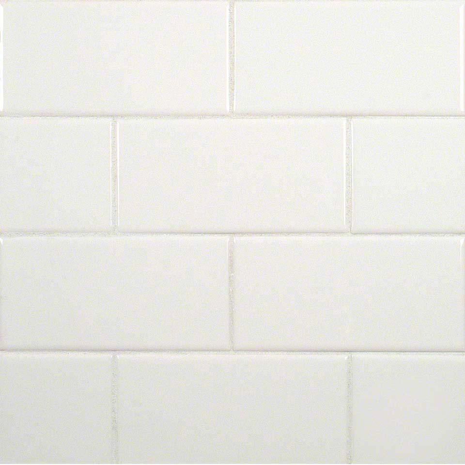 White 3x6 Bullnose Ceramic