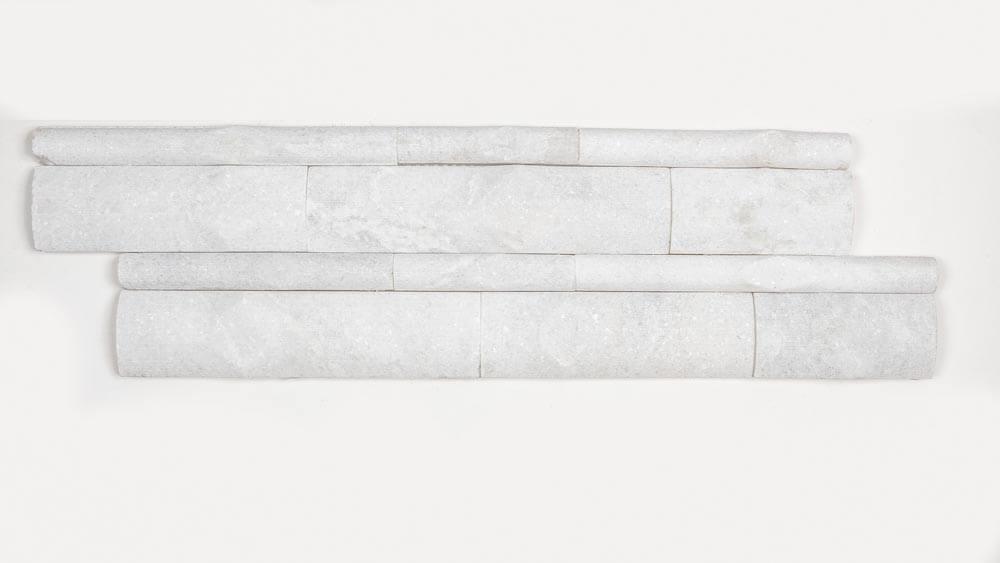 Himachal White Bamboo 6x18 Mosaic