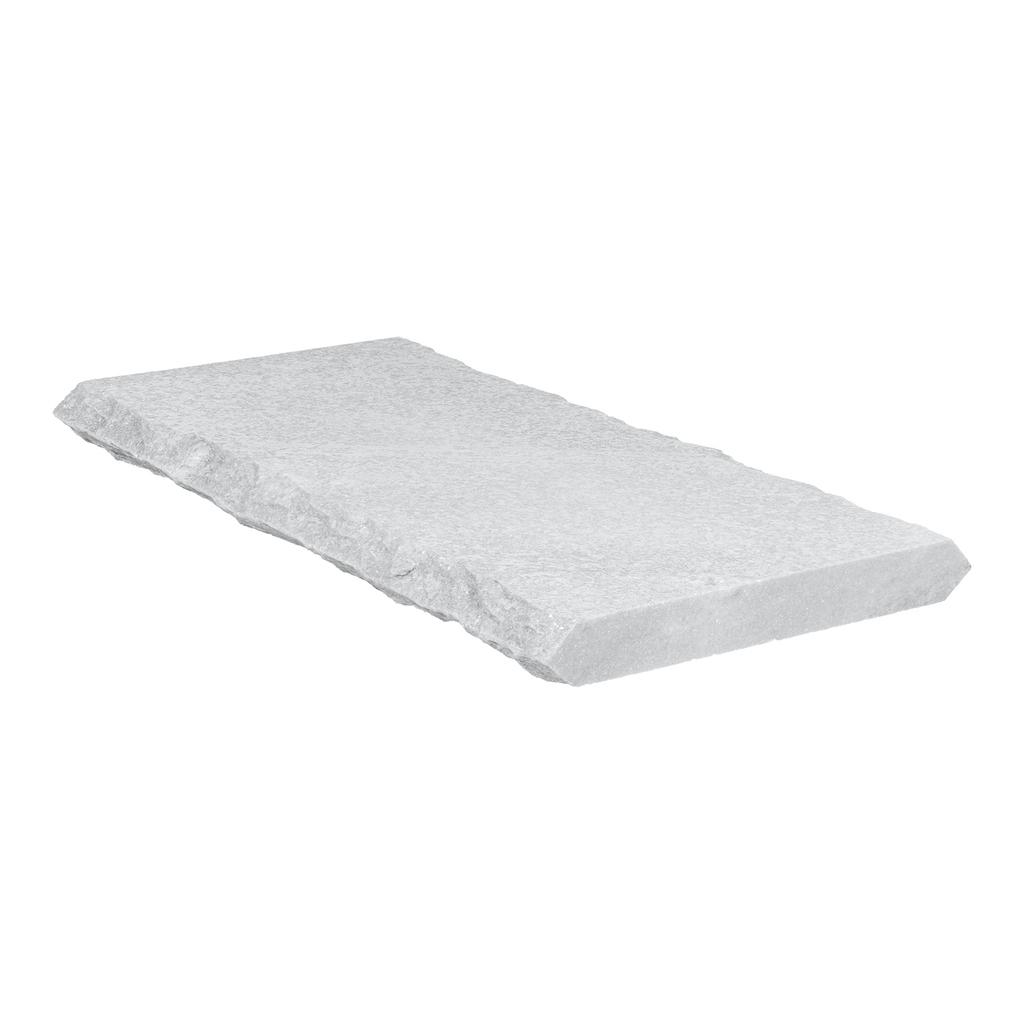 White Quartizite 12x24 4CM Wall Cap