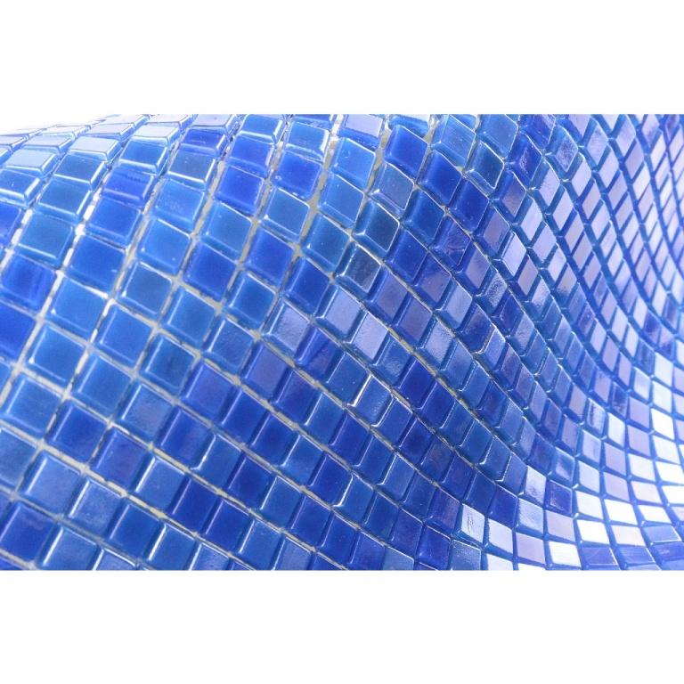 Day Sky 12x12 Wavy Glass Mosaic