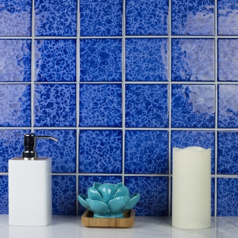 Cobalt Blue Porcelain Pool Tile