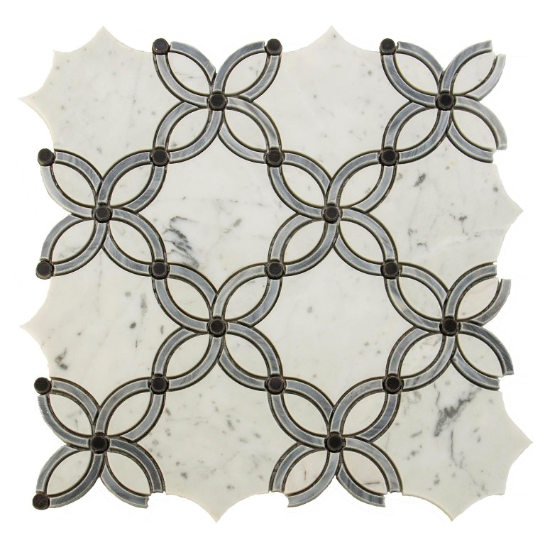 Casablanca Passion Waterjet Mosaic