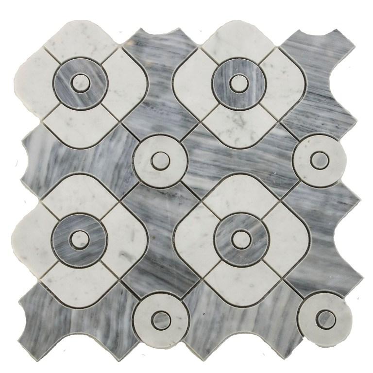Sanddun Serene Waterjet Mosaic
