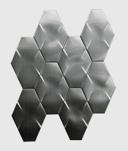 Stainless Steel 3D Interlocking 6