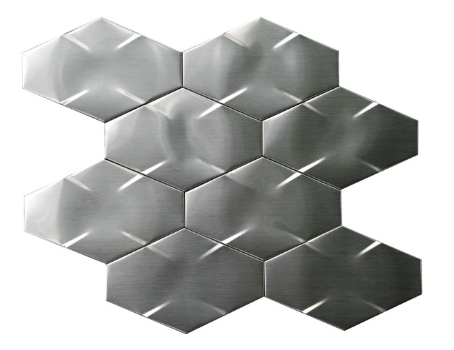 Stainless Steel 3D Interlocking 6